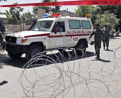 29 کشته و زخمی در انفجار انتحاری بیمارستان نظامی کابل