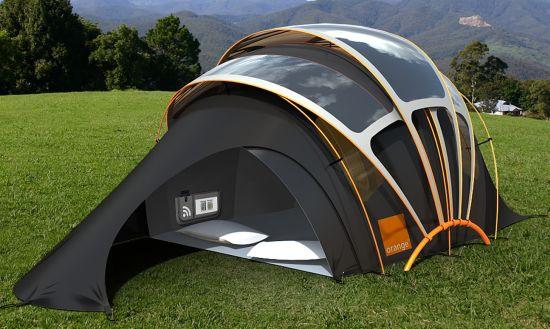طراحی چادر خورشیدی