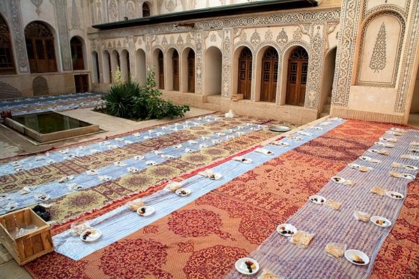 آشنایی با خانه طباطباییهای کاشان - اصفهان