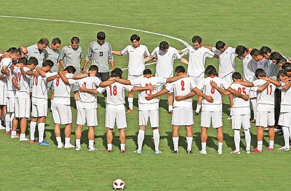 فوتبال تیم امید