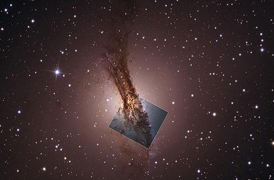 کهکشان قنطورس A