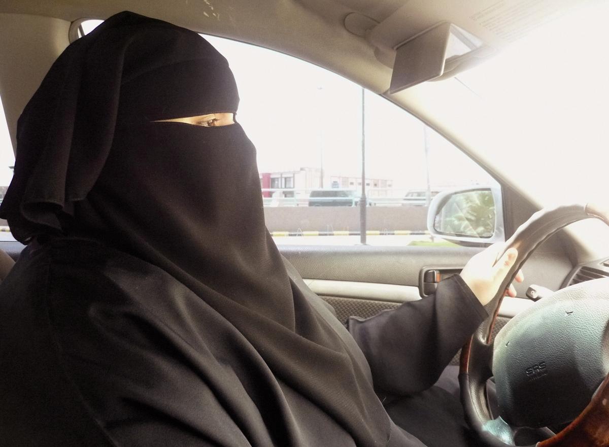زنان - عربستان - رانندگی