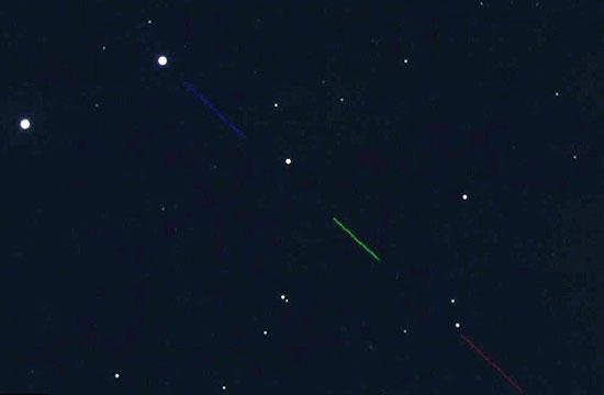 عبور سیارکی از نزدیکی زمین
