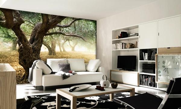 چطور از کاغذ دیواری در دکوراسیون منزل استفاده کنیم؟