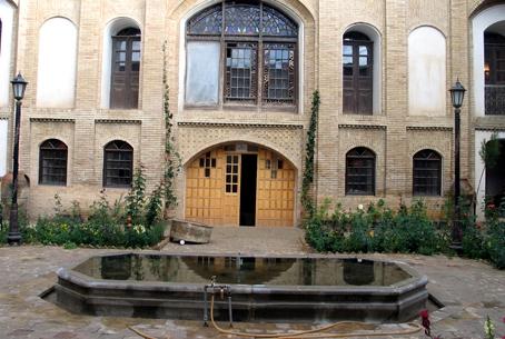 آشنایی با خانه قدیمی منصوری - همدان