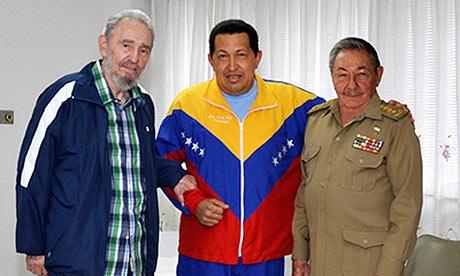 چاوز در حال بهبودی است