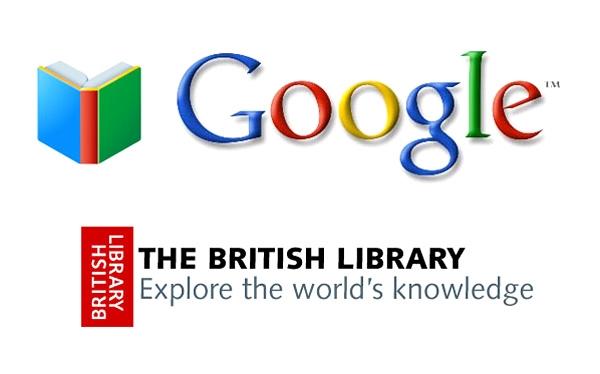 گوگل و کتابخانه انگلیس
