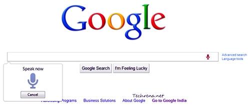 جستجوی گوگل صوتی و تصویری