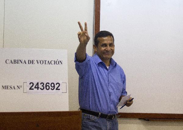 پیروزی اولانتا هومالا در انتخابات ریاست جمهوری پرو