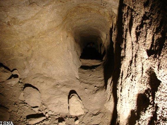 آشنایی با شهر زیرزمینی سامن - همدان
