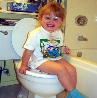 آموزش استفاده از دستشویی در کودکان