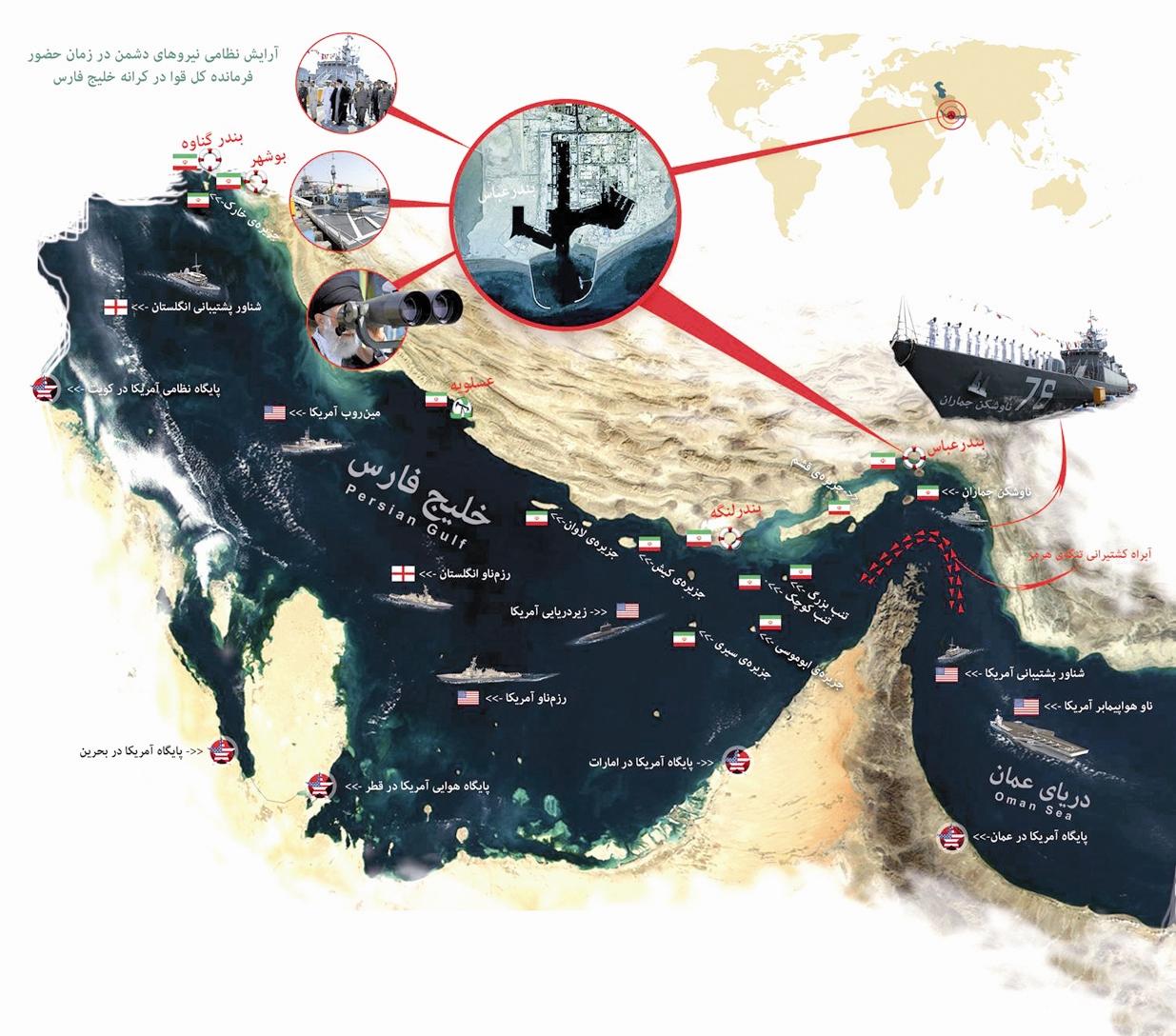 خلیج فارس - توان نظامی ایران