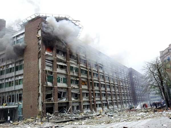 انفجار شدید در مقر دولت نروژ