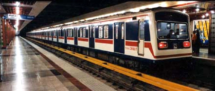 حادثه در خط یک متروی تهران