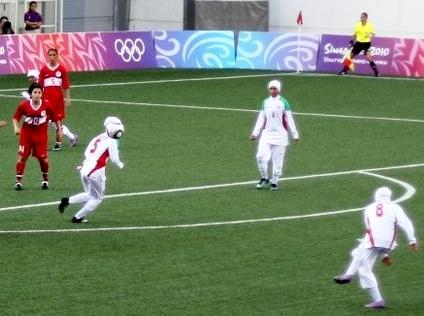 تاریخچه فوتبال زنان ایران