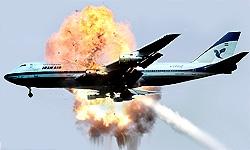حمله به هواپیمای مسافربری ایران