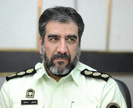 محمدیان رئیس پلیس آگاهی