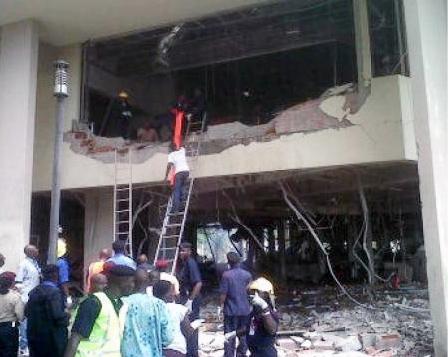 انفجار در ساختمان سازمان ملل در پایتخت نیجریه