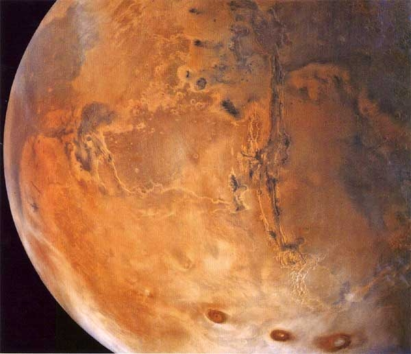 آب شور در مریخ سرخ