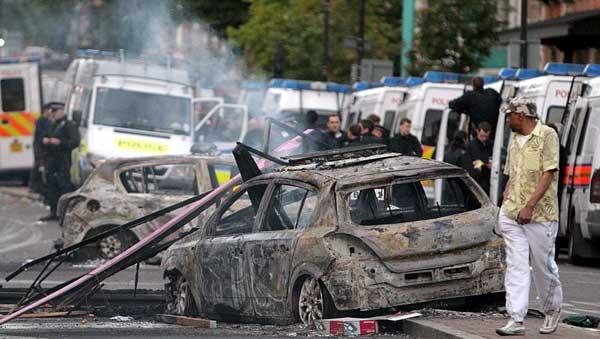 گزارش تصویری از  ناآرامیهای لندن