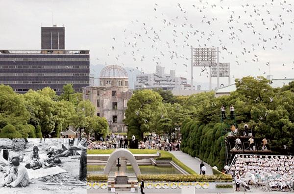 انفجار هسته ای ژاپن