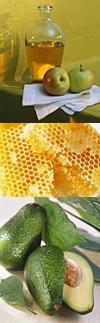 پوست سالم با مواد طبیعی