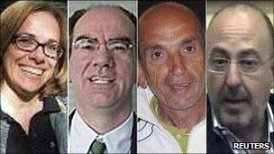 خبرنگاران ایتالیایی آزاد شدند