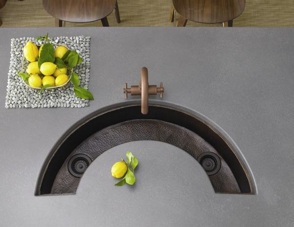 آشنایی با مدلهای مختلف سینک آشپزخانه