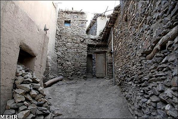 آشنایی با روستای سنگی ورکانه - همدان