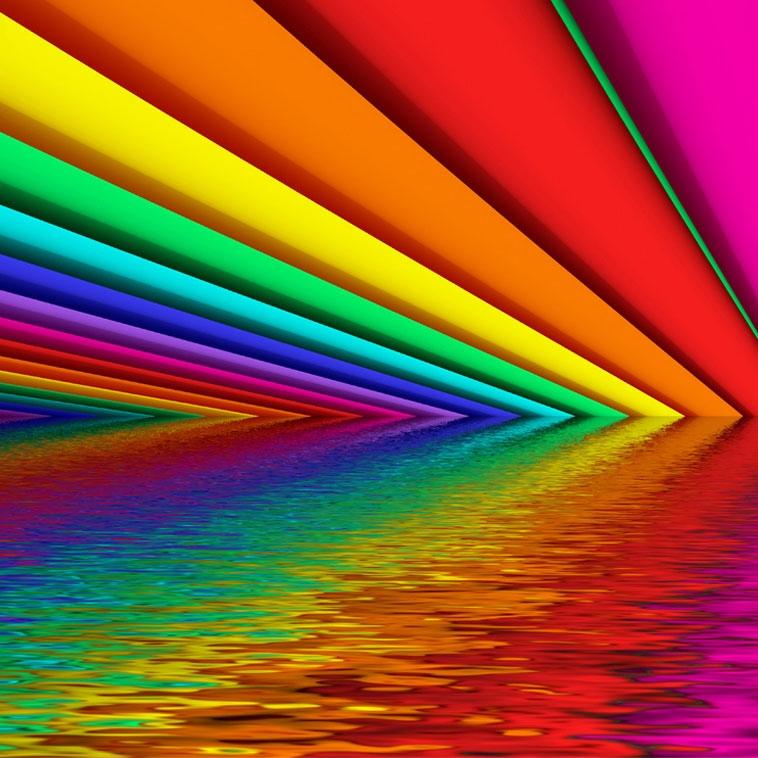 آشنایی با خواص و تاثیرات رنگها