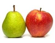 مصرف سیب و گلابی خطر سکته مغزی را کاهش میدهد