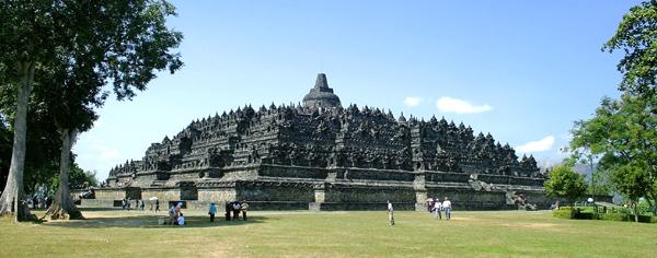 معبد بوروبودر - جاوه مرکزی - شهر مگلانگ - اندونزی