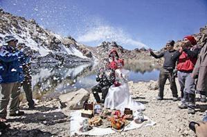 ازدواج در قله سبلان