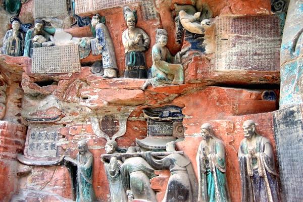 آشنایی با سنگنگارههای دازو - چین