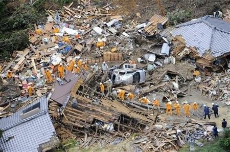 توفان تالاس در ژاپن