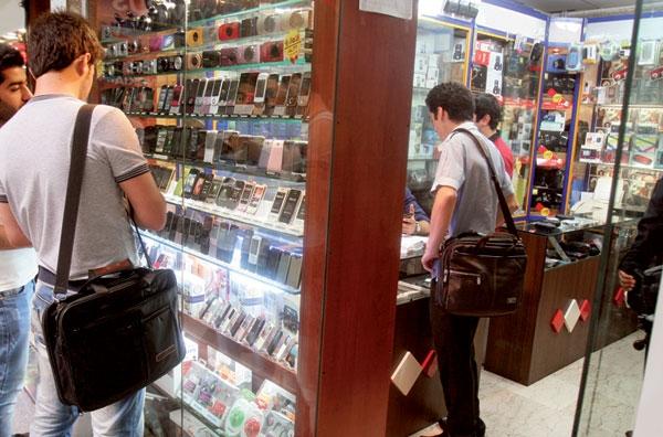 جمعآوری گوشیهای تلفن همراه قاچاق