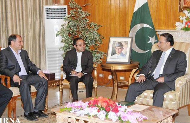 دیدار وزیر کشور ایران با رییس جمهوری پاکستان