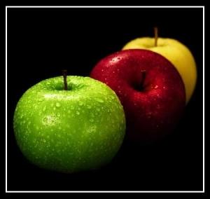 کاهش کلسترول بد خون با مصرف سیب