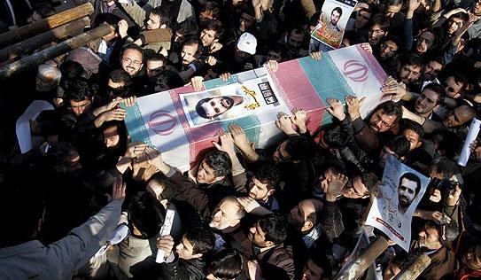 تشییع پیکر شهید مصطفی احمدی روشن