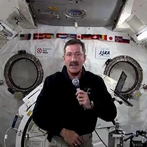 دان بوربانک، فرمانده ایستگاه فضایی بین المللی