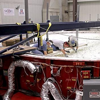 ساخت آینه 8.4 متری تلسکوپ عظیم ماژلانی
