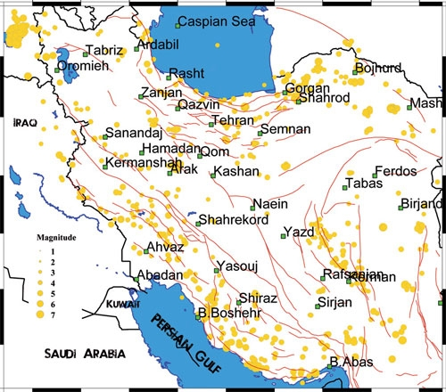 نقشه ایران
