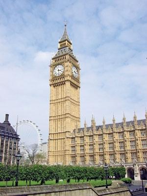 لندن- برج ساعت بیگبن
