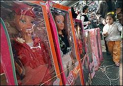 دهها مغازه فروش عروسک باربی پلمپ شد