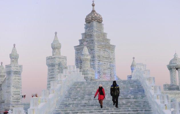 جشنواره برف و یخ
