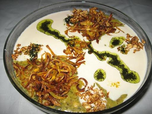 آشنایی با روش تهیه آش کلم برگ - غذای محلی تبریز