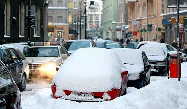 سرما در اروپا