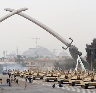 اولین رژه ارتش عراق پس از خروج نیروهای آمریکایی