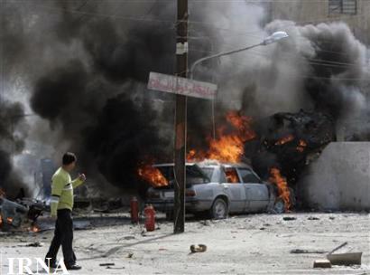 انفجار دو خودرو بمب گذاری شده در عراق 12 کشته برجا گذاشت