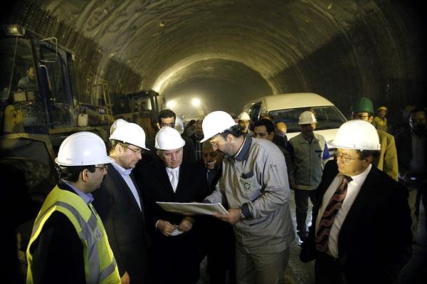 آشنایی با تونل نیایش - تهران